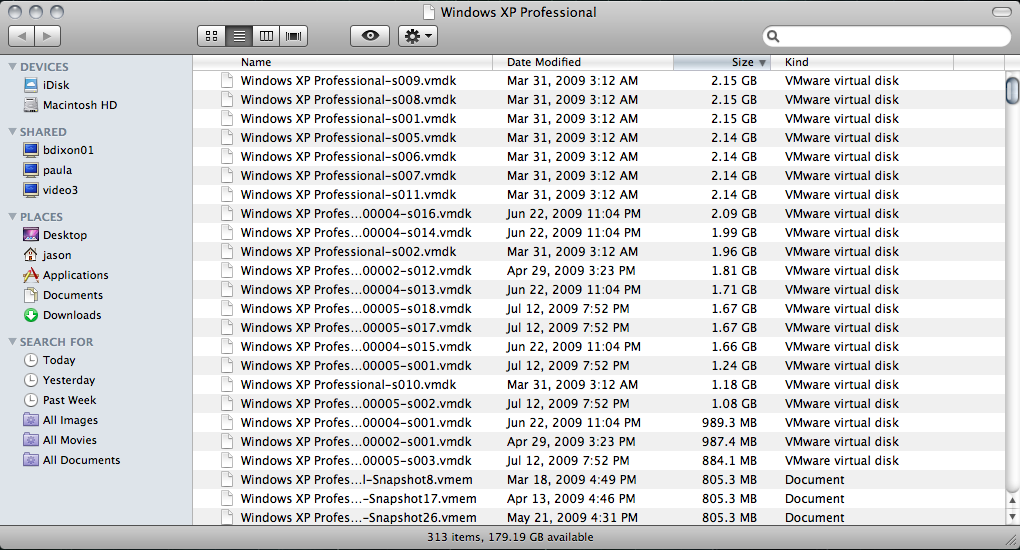 Protecting Your VMware Fusion VMs with Time Machine – Jason Nash